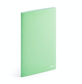 Mint Double Booked Blank Notebook Refill