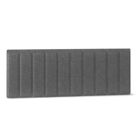 "Dark Gray Pinnable Molded Panel, 47 x 17.5"" with Modesty Edge Clips,Dark Gray,hi-res"
