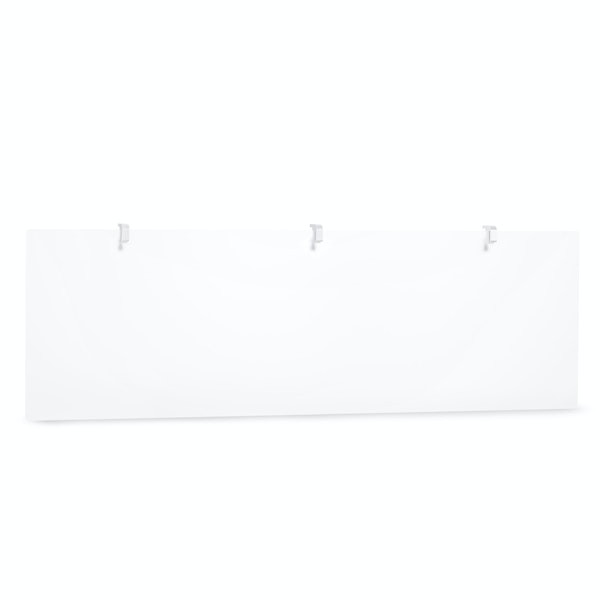 "Frost White Translucent Modesty Panel, 55""W,,hi-res"