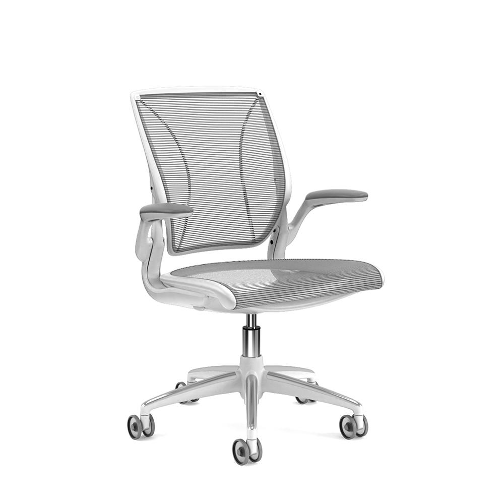 modern task chair. Pinstripe Mesh Black World Task Chair, Fixed Arms, White Frame,Black,hi Modern Chair A