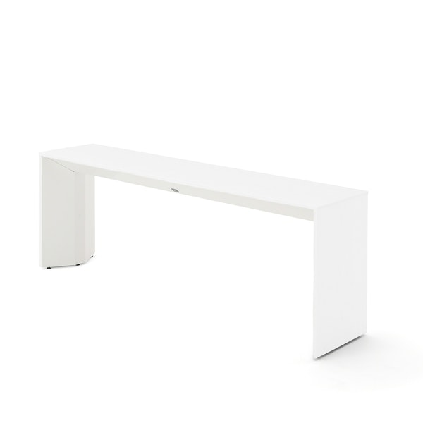 Slim Table, White, White Frame,White,hi-res