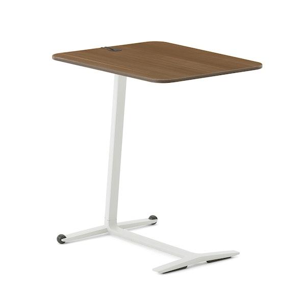Skate Table, Virginia Walnut, White Frame,Virginia Walnut,hi-res