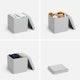 Light Gray Box Seat,Light Gray,hi-res