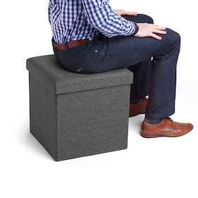 Dark Gray Box Seat,Dark Gray,hi-res