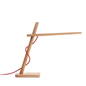 White Oak Clamp Mini LED Lamp