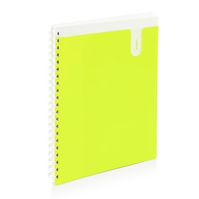 Lime 1-Subject Pocket Spiral Notebook,Lime Green,hi-res