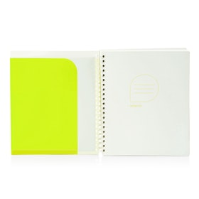 Lime 1-Subject Pocket Spiral Notebook