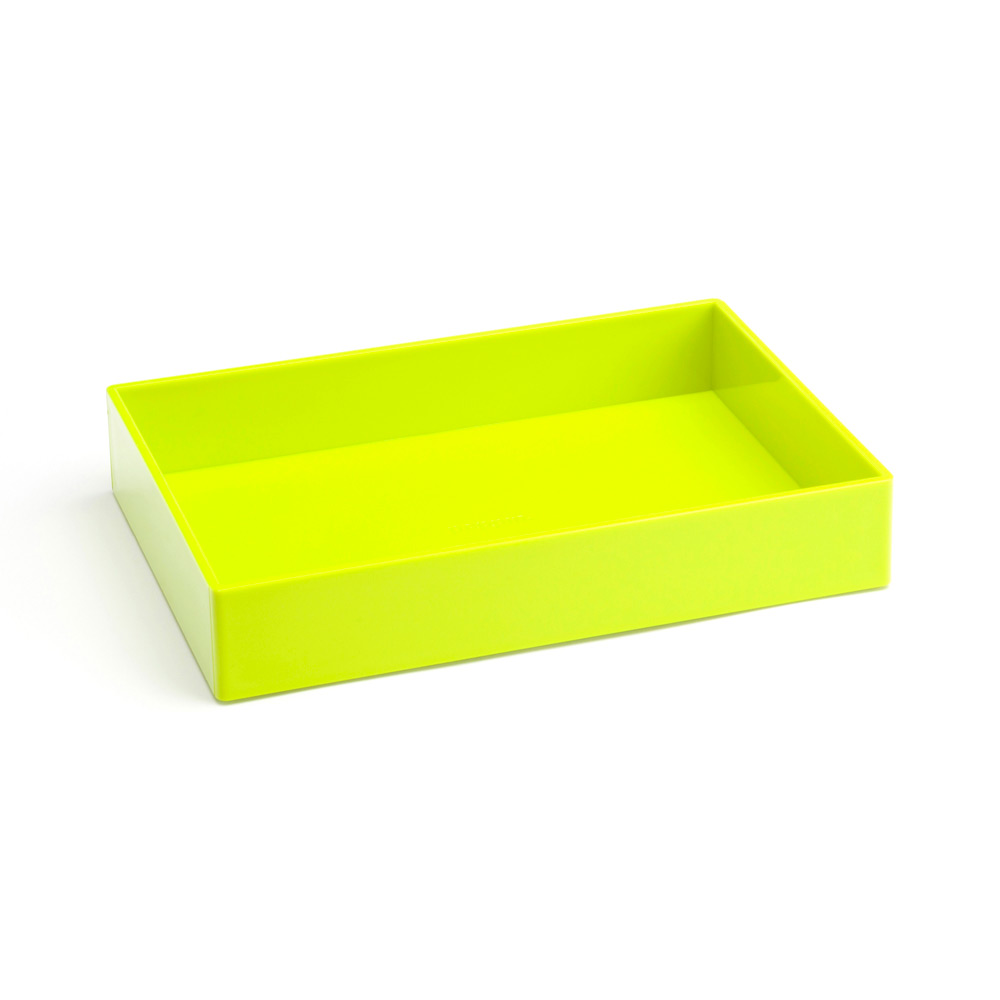 Exceptionnel Lime Green Medium Accessory Tray