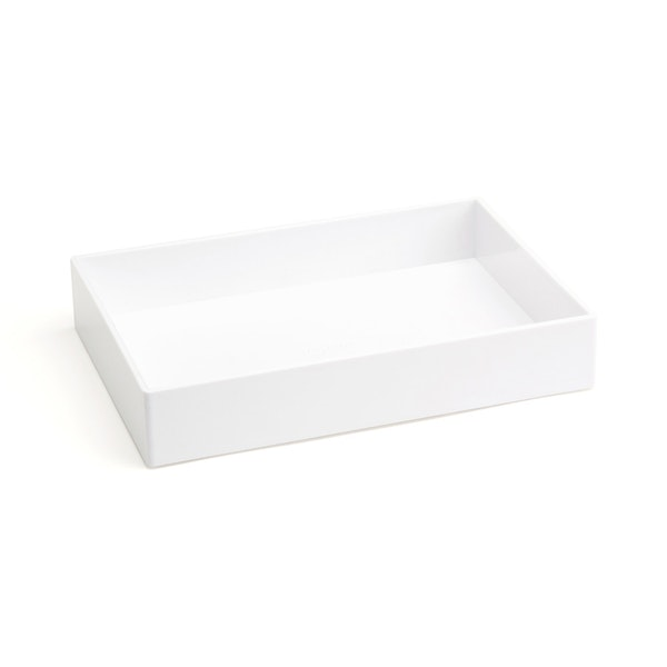 White Medium Accessory Tray,White,hi-res