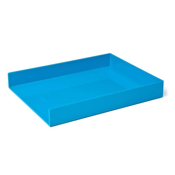 Pool Blue Single Letter Tray,Pool Blue,hi-res