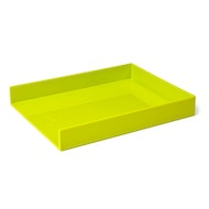 Lime Green Single Letter Tray,Lime Green,hi-res