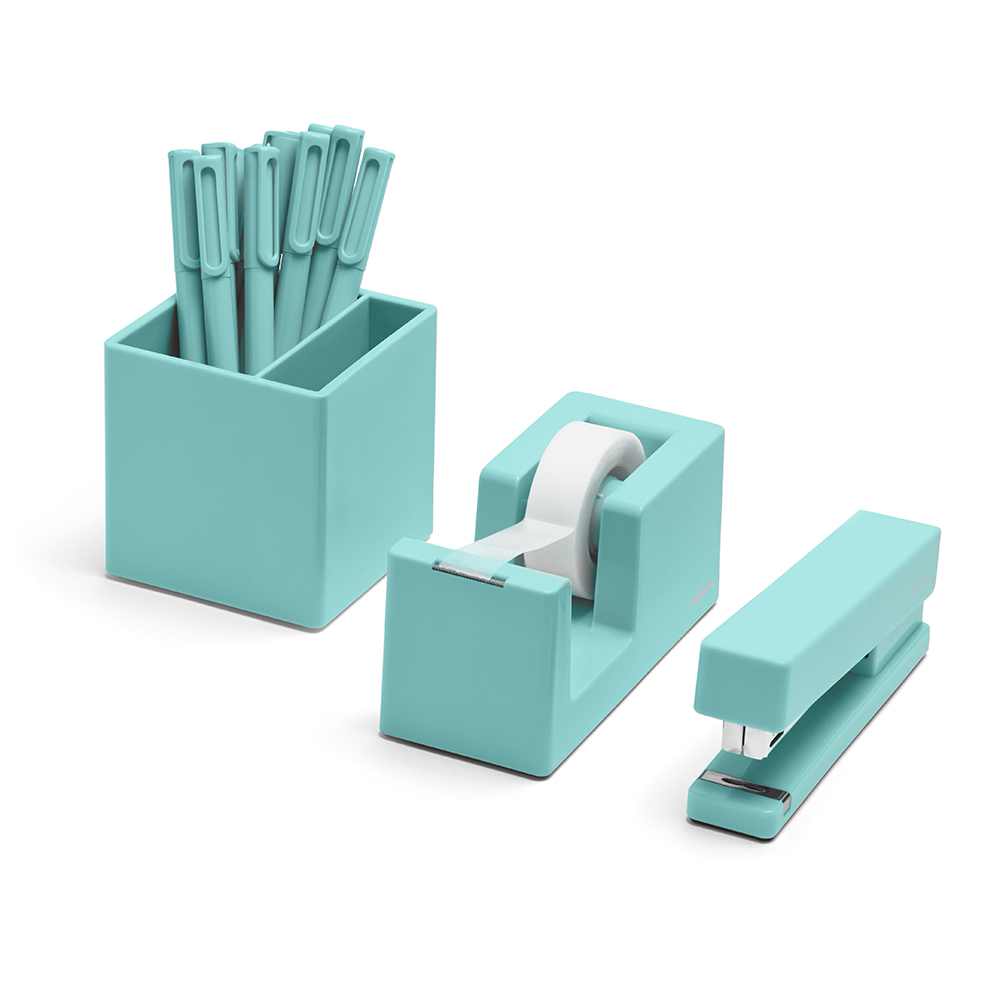 Awesome Aqua Starter Set | Cool Office Supplies | Poppin