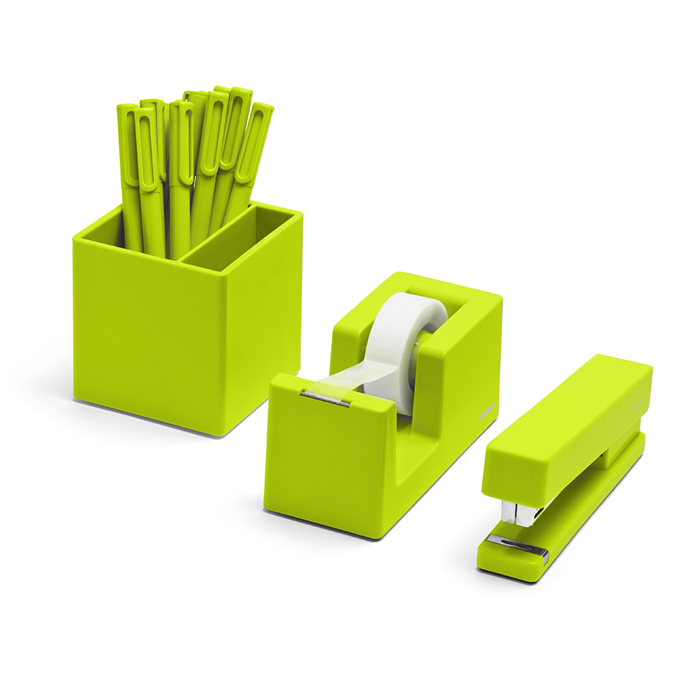 Image Gallery Lime Green Desk