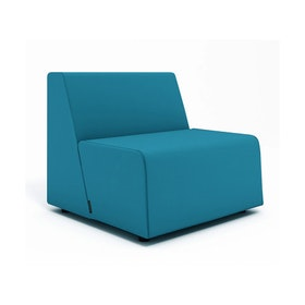 Campfire Half Lounge Chair, Pool Blue
