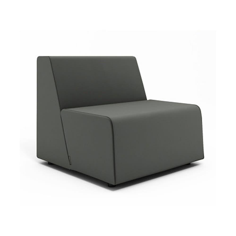 Campfire half lounge chair graygrayhi res