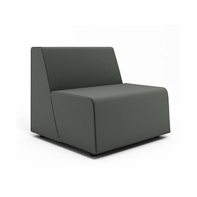 Campfire Half Lounge Chair, Gray