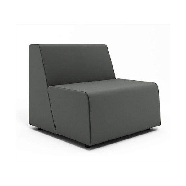 Campfire Half Lounge Chair, Gray,Gray,hi-res