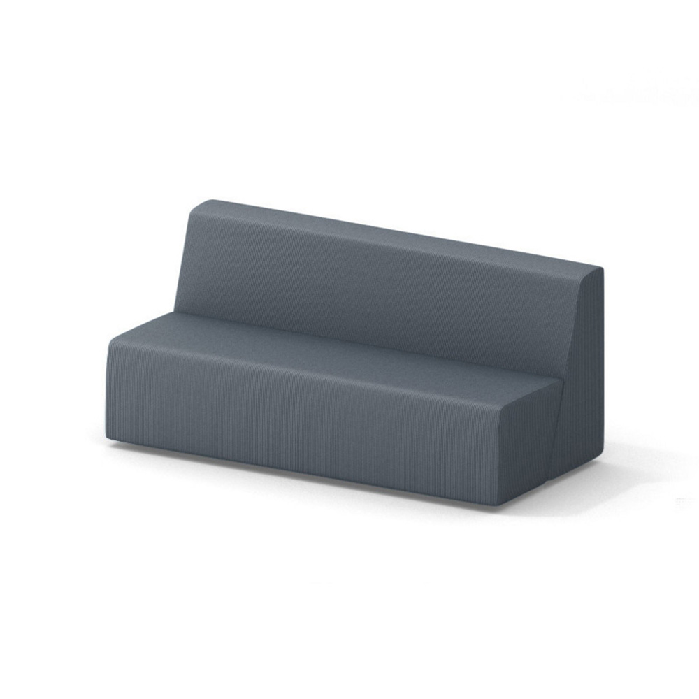 Campfire Big Lounge Sofa, Gray| Modern Office Furniture | Poppin
