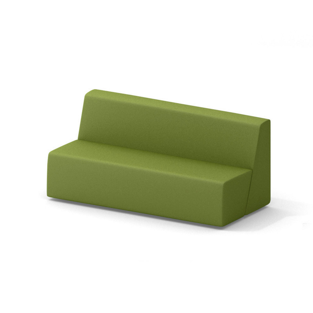 Campfire Big Lounge Sofa, Green| Modern Office Furniture | Poppin