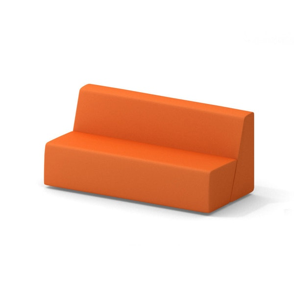 Campfire Big Lounge Sofa, Orange,Orange,hi-res