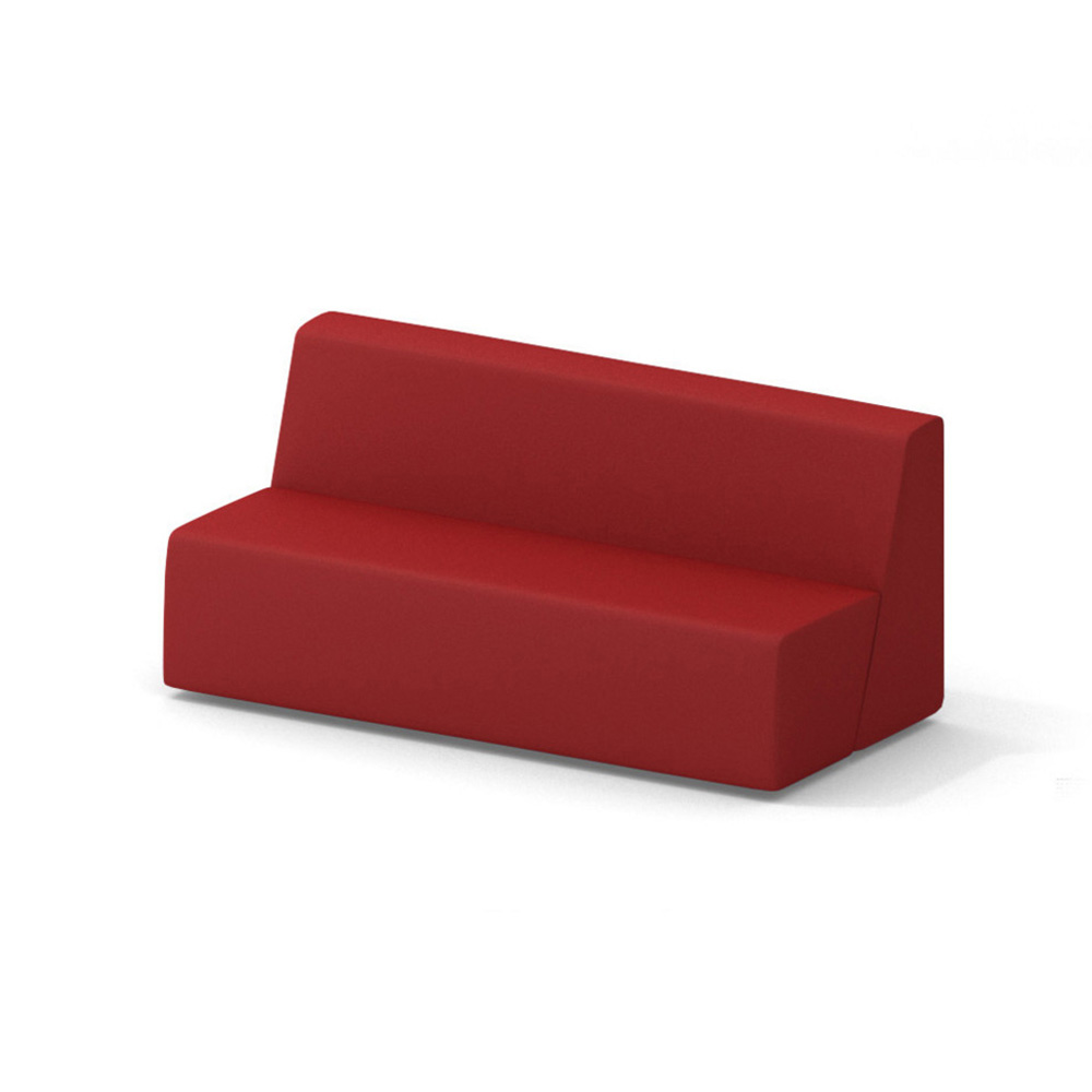 Campfire Big Lounge Sofa, Red| Modern Office Furniture | Poppin