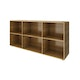 Virginia Walnut Bivi Big Depot Shelf,Virginia Walnut,hi-res