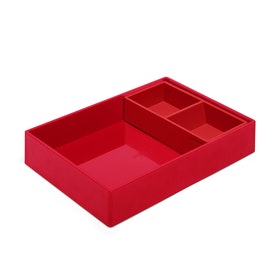 Red Double Tray,Red,hi-res