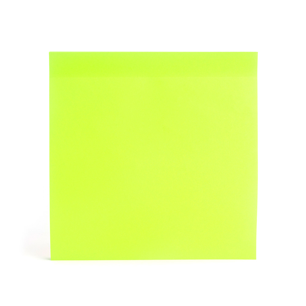 lime green jumbo mobile memos writing pads poppin