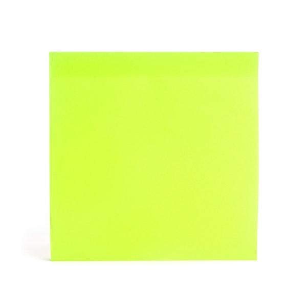 Lime Green Jumbo Mobile Memos,Lime Green,hi-res