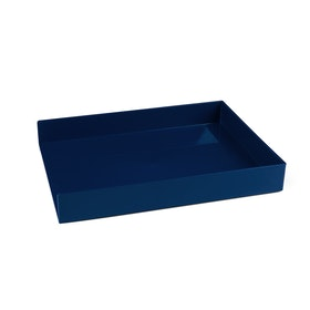 Navy Single Letter Tray