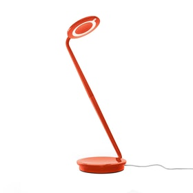 Orange Pixo LED Desk Lamp
