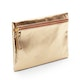 Gold + Coral Slim Accessory Pouch,Gold,hi-res