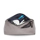 Gunmetal + Navy Medium Accessory Pouch,Gunmetal,hi-res