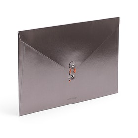 Gunmetal Soft Cover Folio