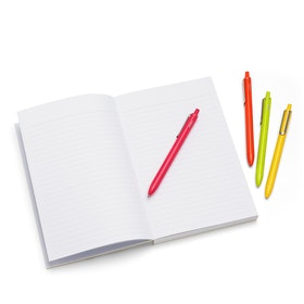 Assorted Citrus Retractable Gel Luxe Pens w/ Black Ink, Set of 4,,hi-res