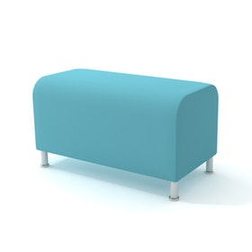Alight Bench, Aqua