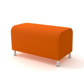 Alight Bench, Orange