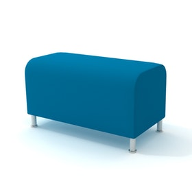 Alight Bench, Pool Blue