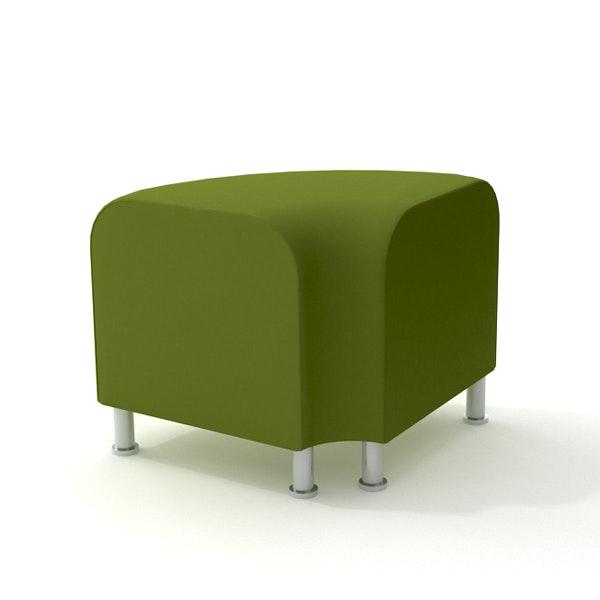 Alight Corner Bench, Green,Green,hi-res