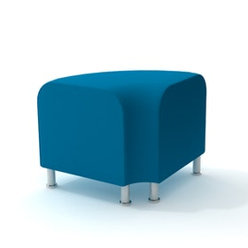 Alight Corner Bench, Pool Blue