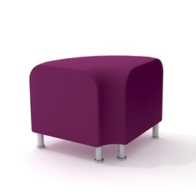 Alight Corner Bench, Purple