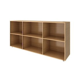 Warm Oak Bivi Big Depot Shelf