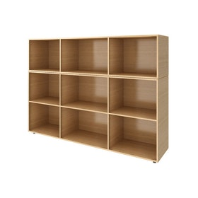 Warm Oak Bivi Bigger Depot Shelf