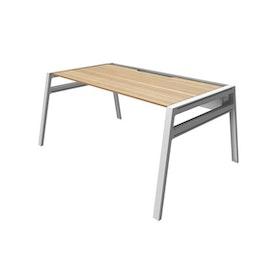 Bivi Desk For One, White Frame