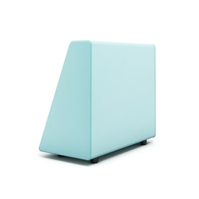 Campfire Wedge Sofa-Chair Arm, Aqua