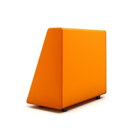 Campfire Wedge Sofa-Chair Arm, Orange