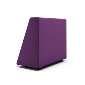 Campfire Wedge Sofa-Chair Arm, Purple