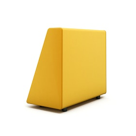 Campfire Wedge Sofa-Chair Arm, Yellow