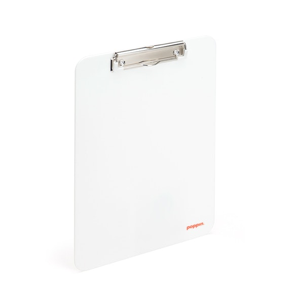 White Clipboard,White,hi-res