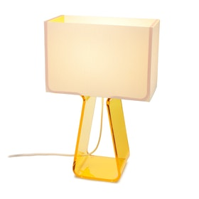 Yellow Tube Top Lamp